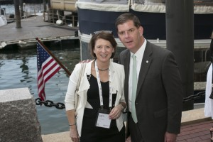 Image of Louise Grubb & Marty Walsh