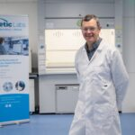 Pharmaceutical entrepreneur Patsy Carney at rent a lab space Kinetic Labs