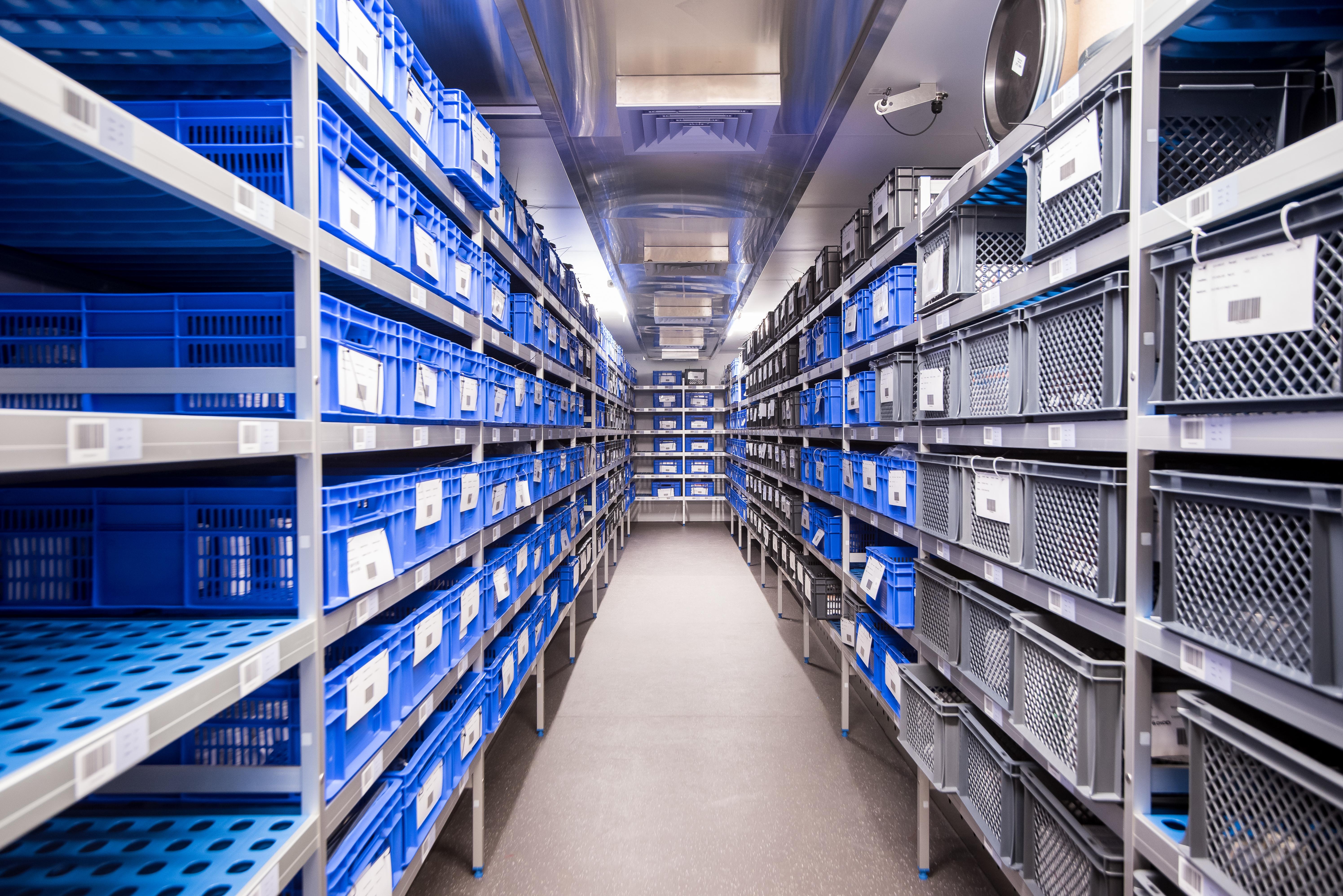 Pharmaceutical trial storage facilities at Q1 Scientific