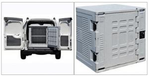 Image of refrigeration unit in van