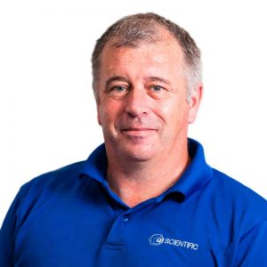 Derek Grubb, Warehouse & Logistics, Q1 Scientific