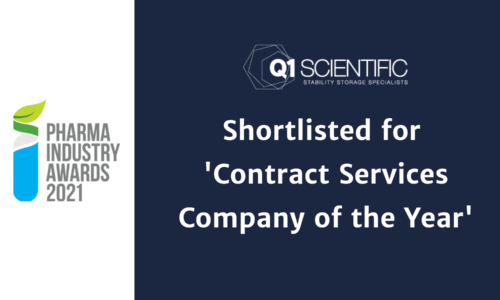 Q1 Scientific shortlisted for Pharma Industry Award